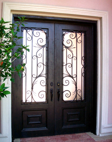 Grainger metal works entry doors for Glass entry doors for home